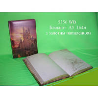 Wilhelm Buro Блокнот А5, в коробке, дизайнерский внутренний блок, 164 листов арт. 5356