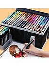 Набор маркеров для скетчинга Touch двухсторонние маркеры на спиртовой основе скетч-маркеры фломастеры, фото 10