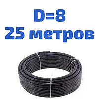 Трубка гальмівна сталева діаметром 6,0 мм