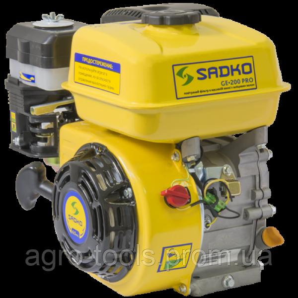Двигун бензиновий Sadko GE-200PRO(шліц)(пошкоджена упаковка)