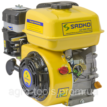 Двигатель бензиновый Sadko GE-200PRO(шлиц)(повреждена упаковка), фото 2