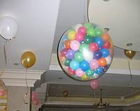 Шар сюрприз на детский День Рождения