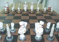 Шахматы стоматологические (керамика)
