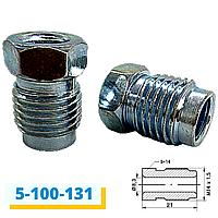 Болт-штуцер тормозной трубки М14х1,5 (131)