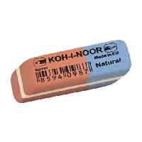 """Кoh-І-Noor Стирательная резинка (ластик)  6521/80 комбинированная """"BluеStar"""""""