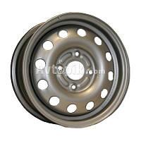 Стальные диски Евродиск 53A45D R14 W5.5 PCD4x100 ET45 DIA57.1 (silver)