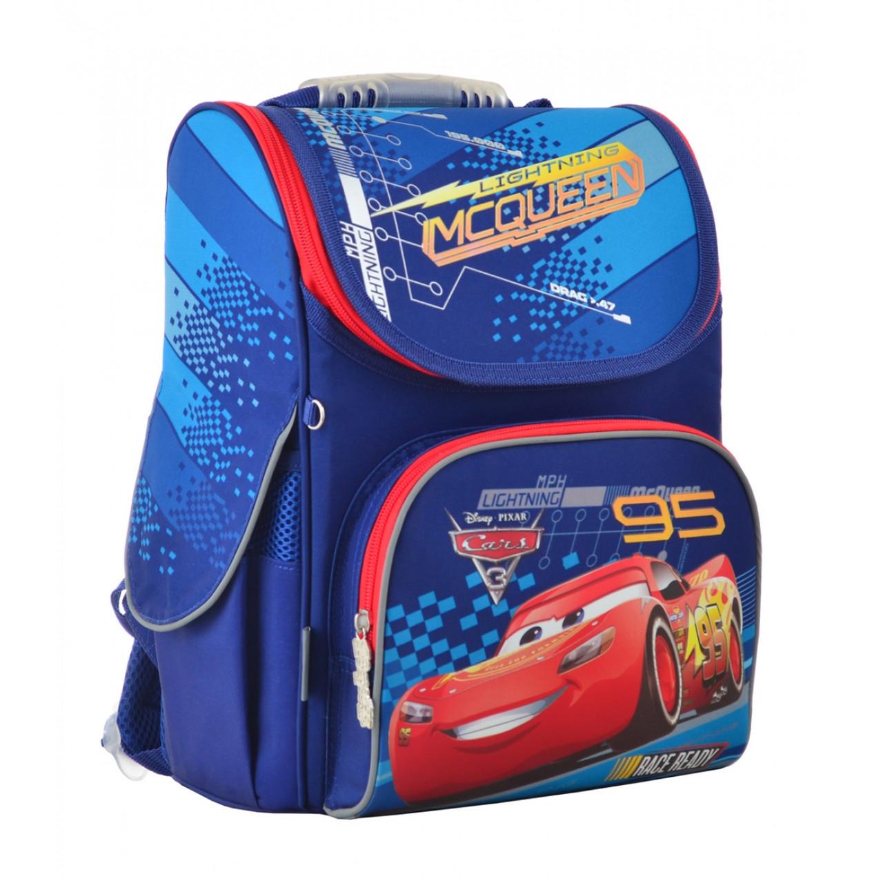 Рюкзак шкільний каркасний 1 Вересня H-11 Cars, 33.5*26*13.5