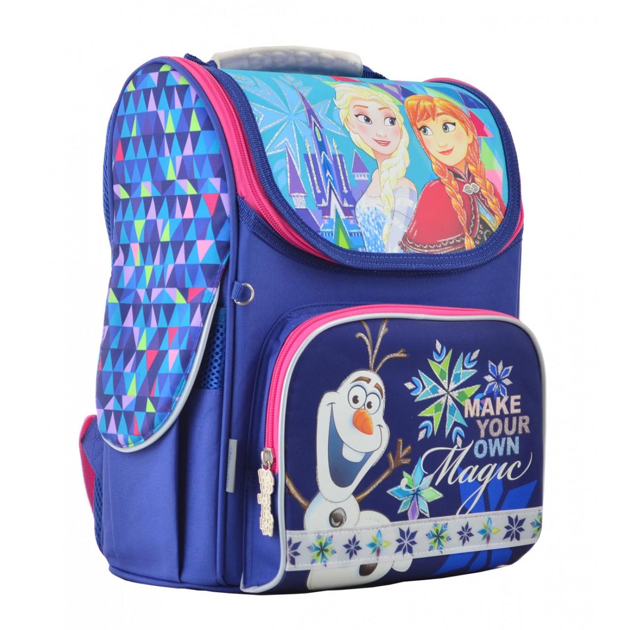 Рюкзак шкільний каркасний 1 Вересня H-11 Frozen blue, 33.5*26*13.5