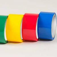 Скотч цветной упаковочный 48х50Y 40мкн  красн., жолт., синий (45,5м)