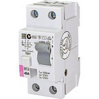 Автоматичний вимикач ETI (УЗО) EFI-2 40/0,3 тип AC (10kA)