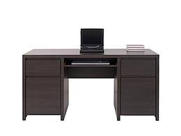 Стол компьютерный BIU2D2S/160 Kaspian BRW венге