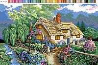 Канва с рисунком Дом