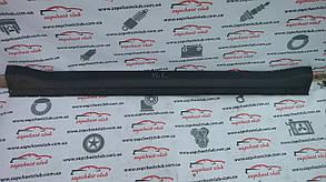 Накладка (молдинг) порога наружная левая 6512A025 999240 Outlander XL Mitsubishi
