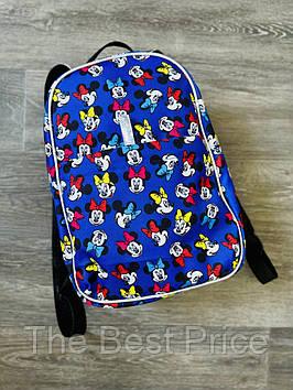 Рюкзак Mickey Mouse Городской микки маус голубой mini