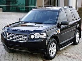 Land Rover Discovery IV Бічні пороги BlackLine (2 шт, алюміній)