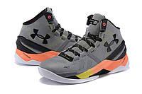 Баскетбольные кроссовки Under Armour Curry 2 серые