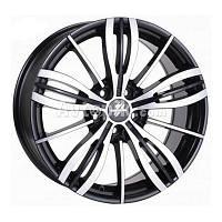 Литые диски Fondmetal TPG1 R18 W8 PCD5x112 ЕT35 DIA75.1 (glossy black polished)