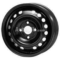 Стальные диски KFZ 6780 R14 W5.5 PCD4x100 ЕT49 DIA56.6 (black)