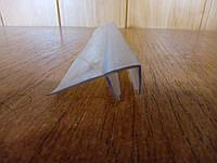 Брызговик капельник уплотнитель силиконовый нижний боковой душевой кабинки комплектующие ВФ04 4мм