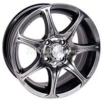Литые диски Racing Wheels H-134 R15 PCD5x114.3 ЕT45 DIA67.1 (BKFP)