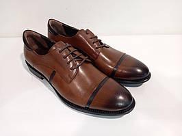 Туфлі Etor 6699-7257-1099 коричневий