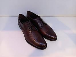Туфлі Etor 13360-7257-1 бордовий