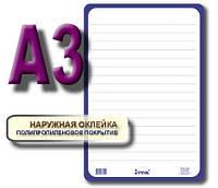 Дошка для написів картонна сухостираєма А3
