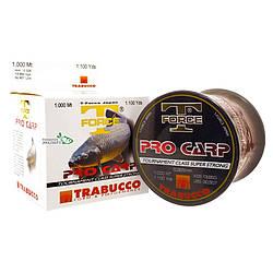 Леска Trabucco T-Force Pro-Carp 1000 м 0.28 мм 9.8 кг коричневая