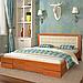 Кровать деревянная полуторная Регина, фото 3