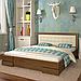 Кровать деревянная полуторная Регина, фото 5