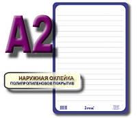 Дошка для написів картонна сухостираєма А2