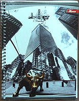 Мицар Блокнот А5/50 стр, пружина сбоку, клетка арт. 102005/1