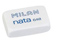 MILAN Резинка стирательная (ластик) прямоугольная Nata арт. ml 648 (48)
