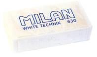 MILAN Резинка стирательная (ластик) White technik ml 630 (30)