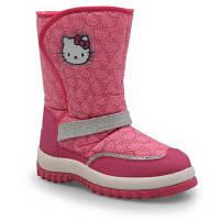"Детские фирменные зимние сапоги ""Hello Kitty"", оригинал, размер 28,"