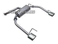 Раздвоенный глушитель Chevrolet Cruze 16V 1.6L МКПП