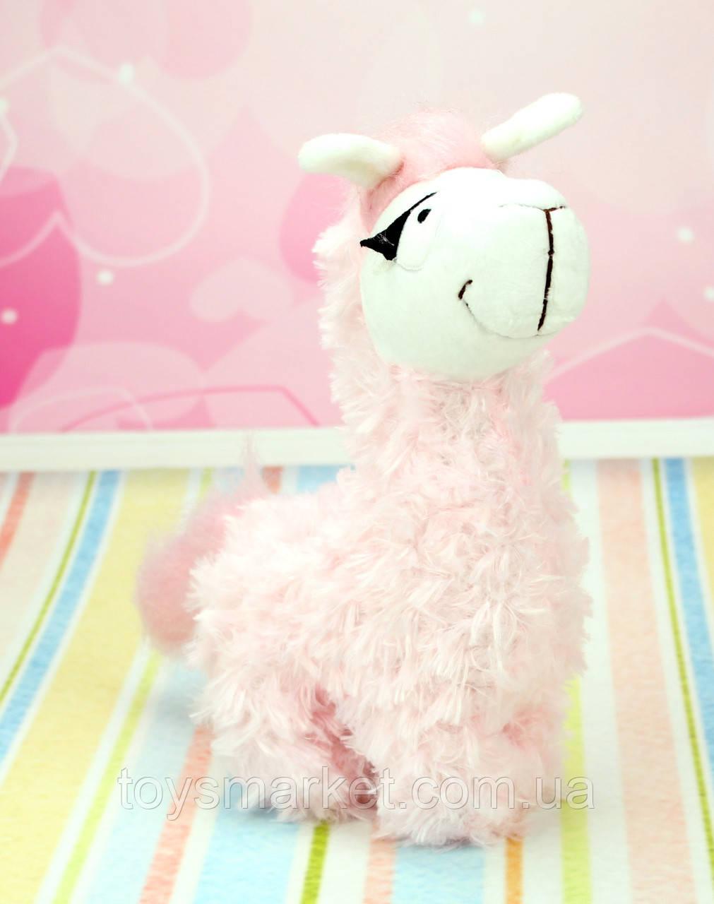 Мягкая игрушка Лама, плюшевая Лама, 25 см.