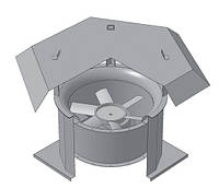 Крышный осевой вентилятор  ВКОП