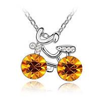 Ожерелье в виде велосипеда