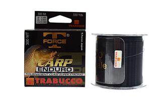 Леска Trabucco T-Force Carp Enduro 300m 0.354mm 15.8kg черная