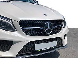 Тюнинг решетка радиатора (Diamond) Без камеры Mercedes GLE coupe C292