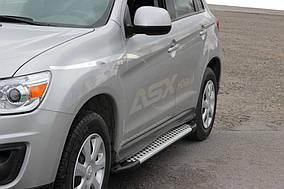 Peugeot 4008 Бічні пороги X5-тип (2 шт., алюм.)
