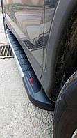 Honda CRV 2017↗ рр. Бічні пороги RedLine V1 (2 шт., алюміній)
