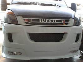 Iveco Daily 2006-2014 роках Накладка на передній бампер ERA (під фарбування)