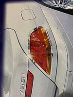 BMW 7 серія E65/66 Накладки на стопи (2 шт., ABS)