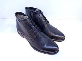 Черевики Etor 15362-7376-1 чорний