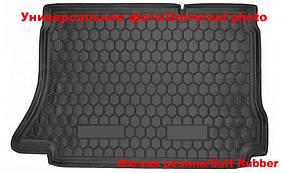 Коврик багажника SW (Autogumm, резина) Volkswagen Passat B8 2015↗ гг.