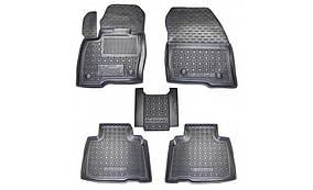 Ford Edge Гумові килимки з бортом 2016-2021 (Autogumm)