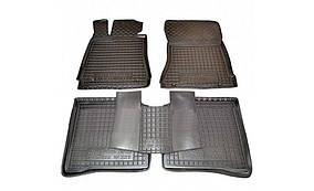 Гумові килимки з бортом 4 matic long (Autogumm) Mercedes S-сlass W221