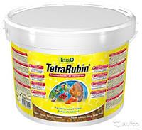 Корм для аквариумных рыб Tetra RUBIN 10 л / 2,05 кг хлопья для усиления естественной окраски рыб